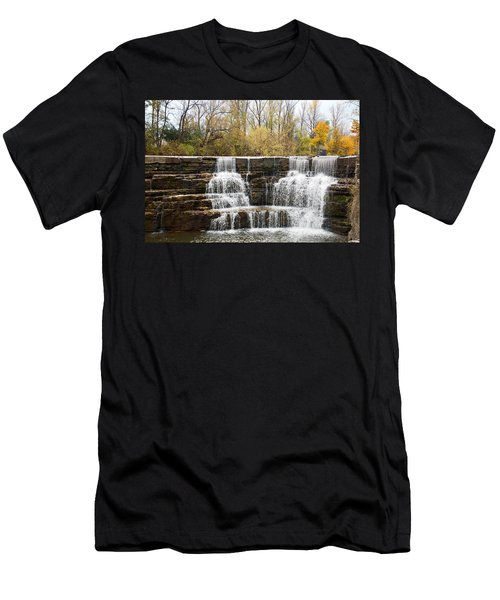 Honeoye Falls 2 Men's T-Shirt (Athletic Fit)