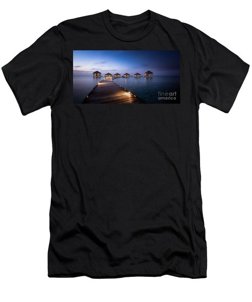 Honeymooners Paradise Men's T-Shirt (Athletic Fit)