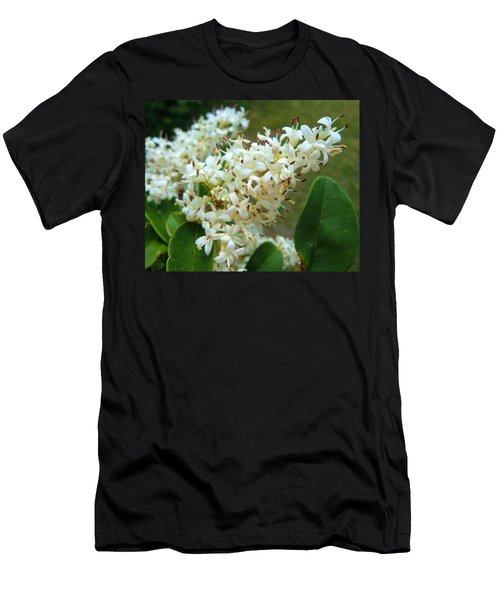 Men's T-Shirt (Slim Fit) featuring the photograph Honeysuckle #1 by Robert ONeil