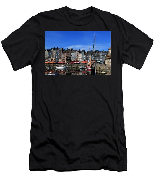 Honfleur France Men's T-Shirt (Athletic Fit)
