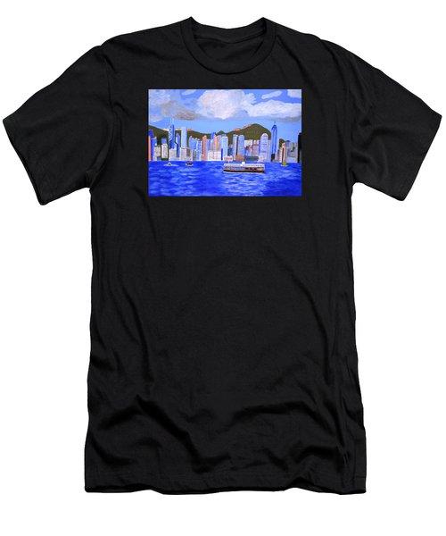 Hong Kong Men's T-Shirt (Athletic Fit)
