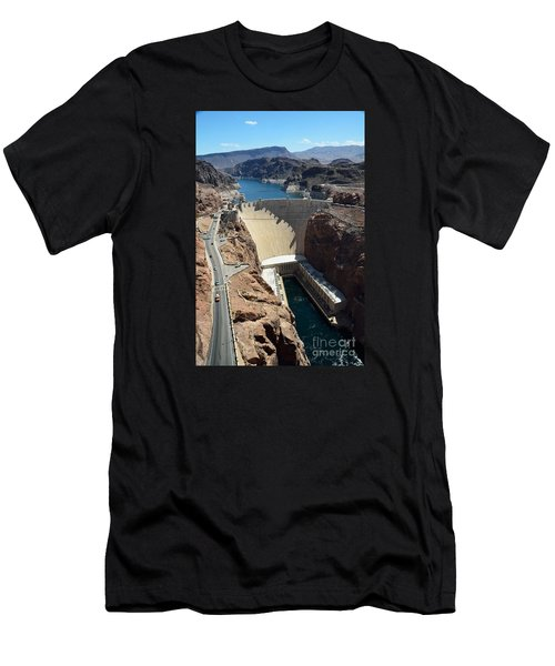 Hoover Dam Men's T-Shirt (Athletic Fit)