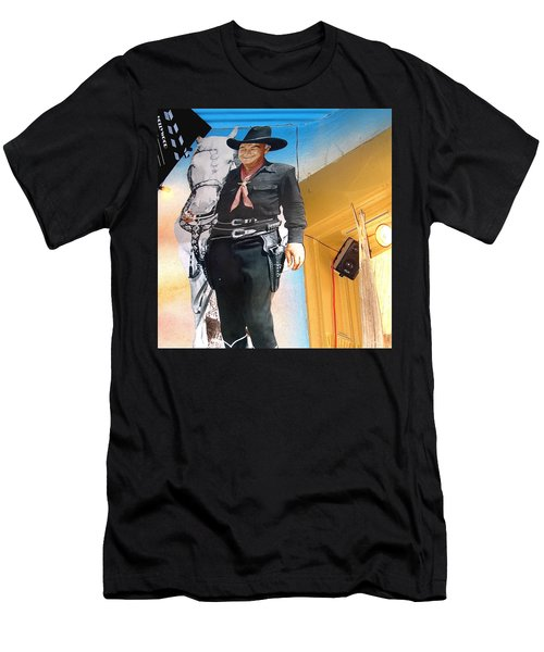 Hopalong Cassidy Cardboard Cut-out Tombstone Arizona 2004 Men's T-Shirt (Athletic Fit)