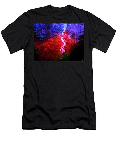 Men's T-Shirt (Slim Fit) featuring the digital art Hope For A Broken Heart - Healing Art by Absinthe Art By Michelle LeAnn Scott