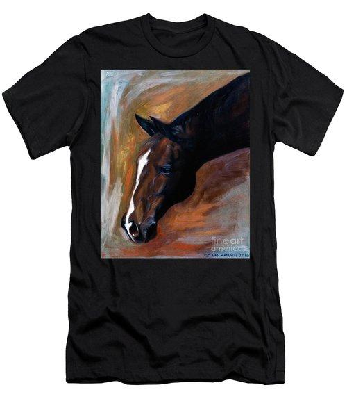 horse - Apple copper Men's T-Shirt (Athletic Fit)