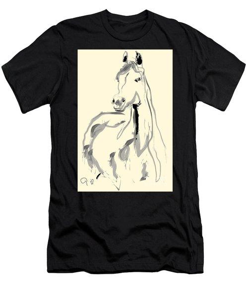 Horse - Arab Men's T-Shirt (Athletic Fit)