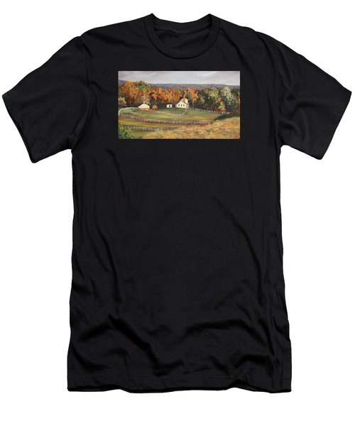 Horse Farm Men's T-Shirt (Athletic Fit)