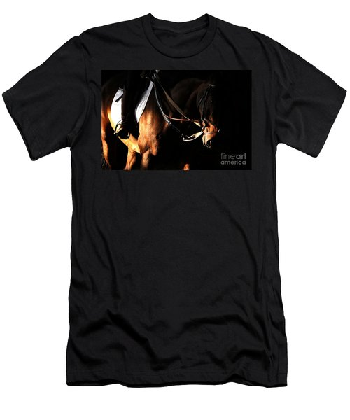 Horse In The Shade Men's T-Shirt (Athletic Fit)