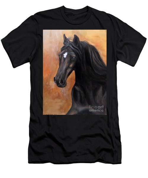 Horse - Lucky Star Men's T-Shirt (Athletic Fit)