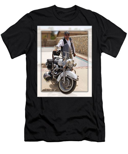 Horses Of Iron2 Men's T-Shirt (Slim Fit) by Walter Herrit