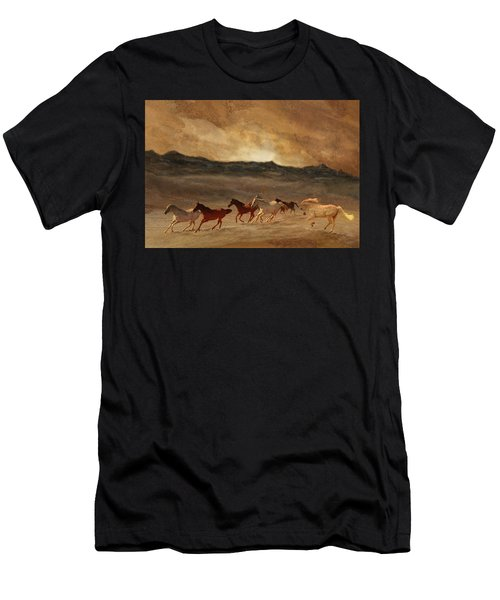 Horses Of Stone Men's T-Shirt (Athletic Fit)