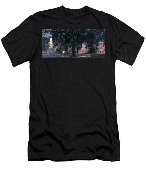 Horseshoe At University Of South Carolina Mural Men's T-Shirt (Slim Fit) by Blue Sky