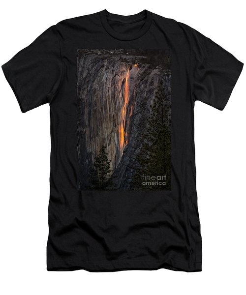 Horsetail Falls Men's T-Shirt (Athletic Fit)
