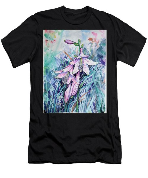 Hosta's In Bloom Men's T-Shirt (Athletic Fit)