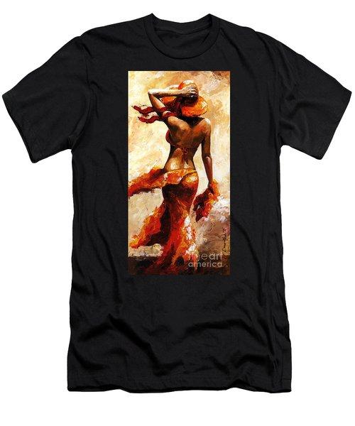 Hot Breeze  Men's T-Shirt (Athletic Fit)