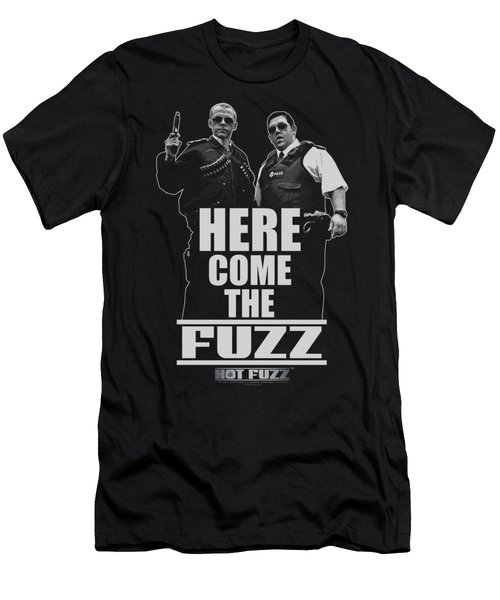 Hot Fuzz - Here Come The Fuzz Men's T-Shirt (Athletic Fit)