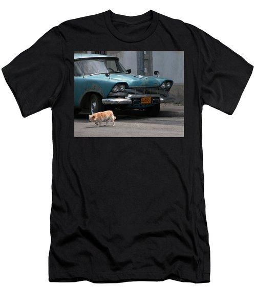 Hot Spot Men's T-Shirt (Athletic Fit)
