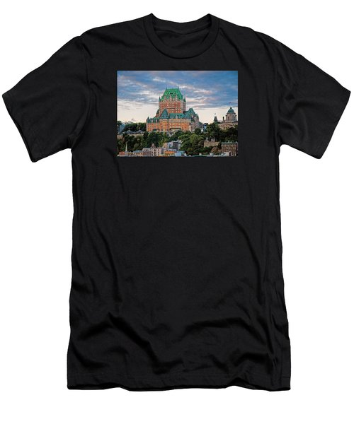 Fairmont Le Chateau Frontenac  Men's T-Shirt (Athletic Fit)