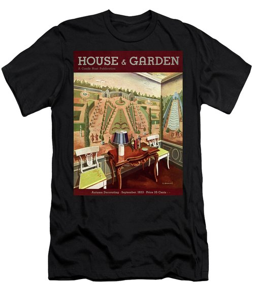 House & Garden Cover Illustration Of 18th Century Men's T-Shirt (Athletic Fit)