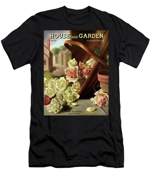 House And Garden Cover Of An Upturned Basket Men's T-Shirt (Athletic Fit)