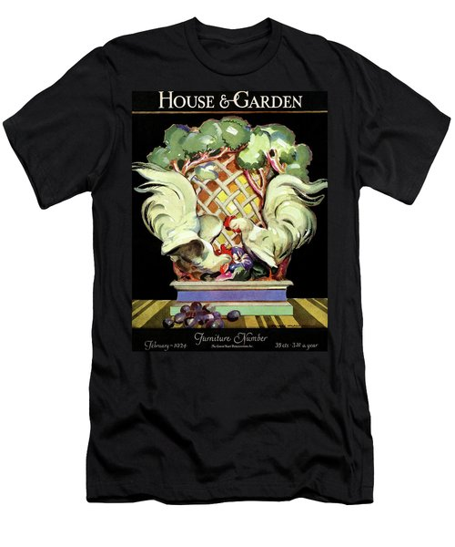 House And Garden Furniture Number Men's T-Shirt (Athletic Fit)