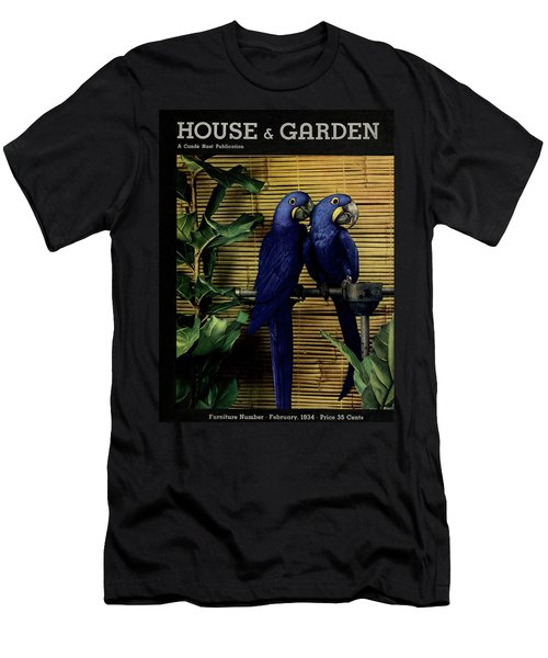 House And Garden Furniture Number Cover Men's T-Shirt (Athletic Fit)