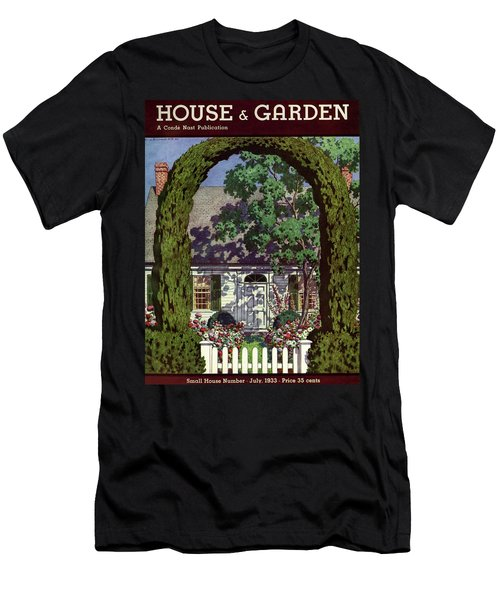 House And Garden Small House Number Men's T-Shirt (Athletic Fit)