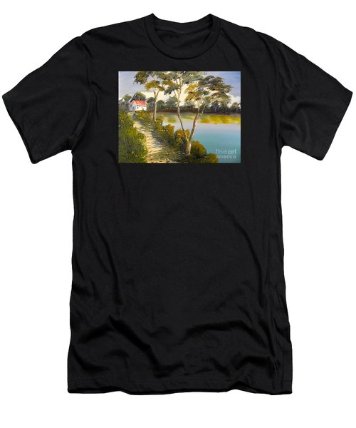 House By The Lake Men's T-Shirt (Athletic Fit)
