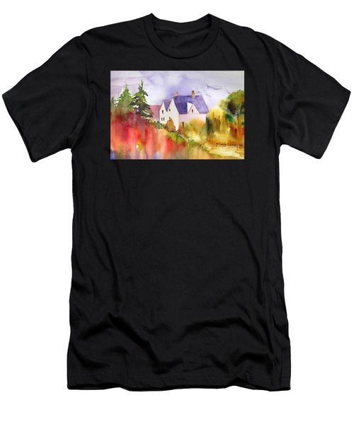House In The Country Men's T-Shirt (Athletic Fit)