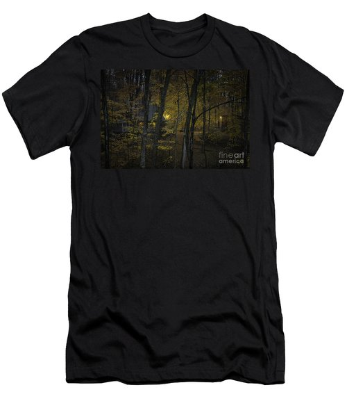 House In The Woods Men's T-Shirt (Athletic Fit)