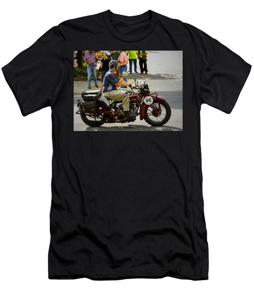 Howdy Indian 96 Men's T-Shirt (Athletic Fit)