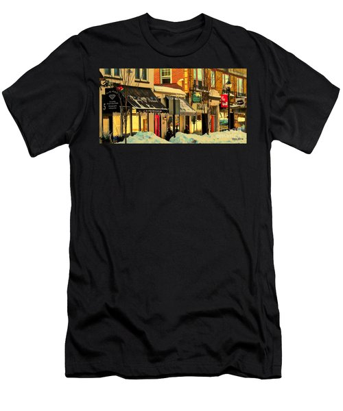 Hues On The Rue Men's T-Shirt (Athletic Fit)