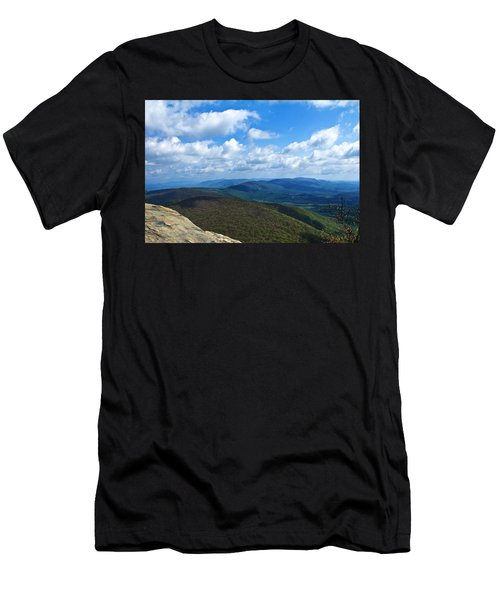 Humpback Rocks View North Men's T-Shirt (Athletic Fit)