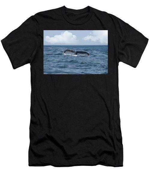 Humpback Whale Fin Men's T-Shirt (Athletic Fit)