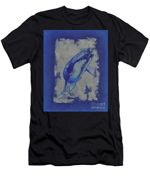 Humpback Whale Men's T-Shirt (Athletic Fit)