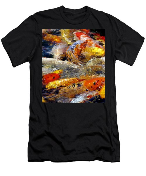 Hungry Koi Men's T-Shirt (Athletic Fit)