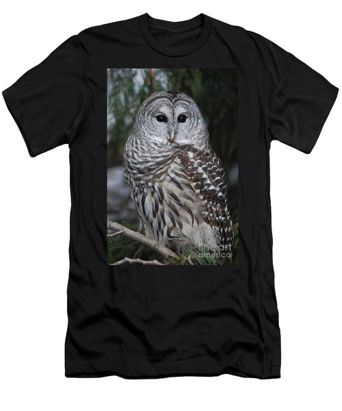 Men's T-Shirt (Slim Fit) featuring the photograph Hunter by Sharon Elliott