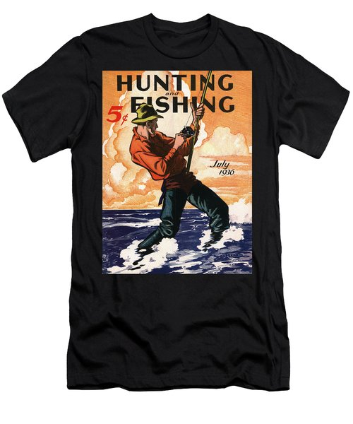 Hunting And Fishing Men's T-Shirt (Athletic Fit)