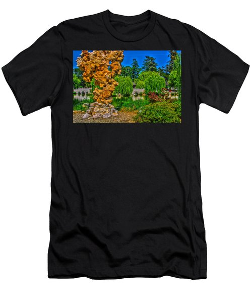 Huntington Gardens Ca Men's T-Shirt (Athletic Fit)