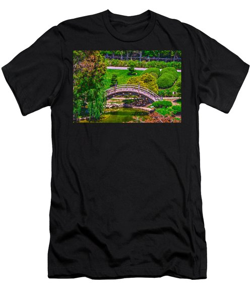 Huntington Library Ca Men's T-Shirt (Slim Fit)