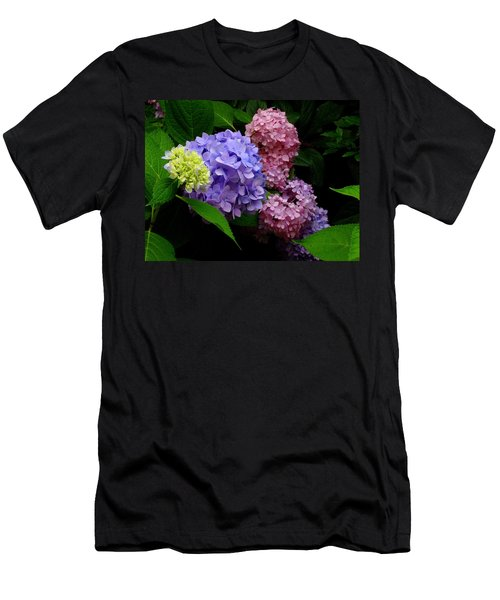 Hydrangea Glow Men's T-Shirt (Athletic Fit)