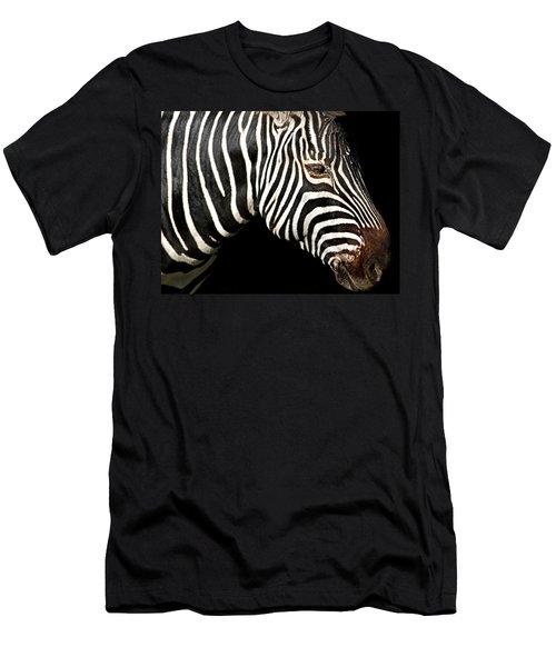 I Am A Zebra Men's T-Shirt (Athletic Fit)