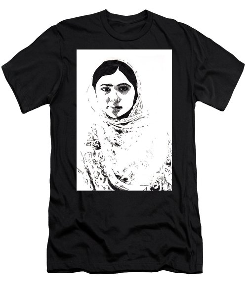 I Am Malala. Men's T-Shirt (Athletic Fit)