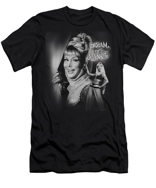 I Dream Of Jeannie - Title Men's T-Shirt (Athletic Fit)