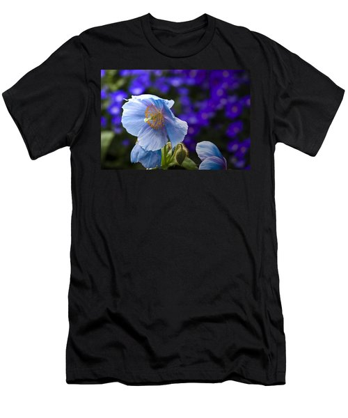 I Feel Blue Men's T-Shirt (Athletic Fit)