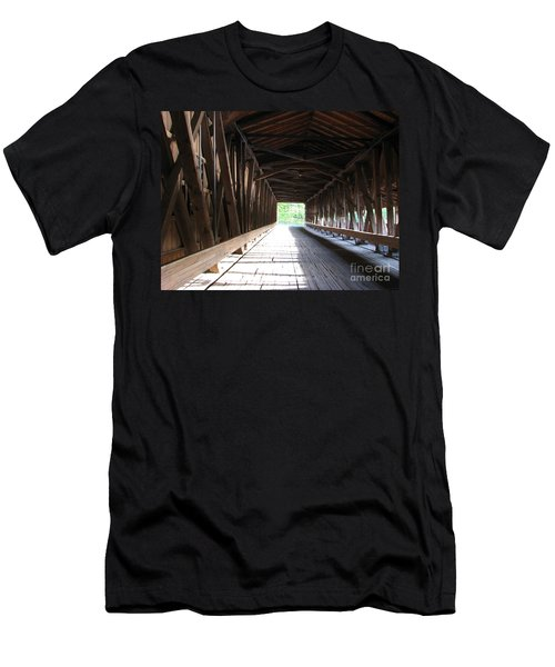 I See The Light Men's T-Shirt (Slim Fit) by Michael Krek