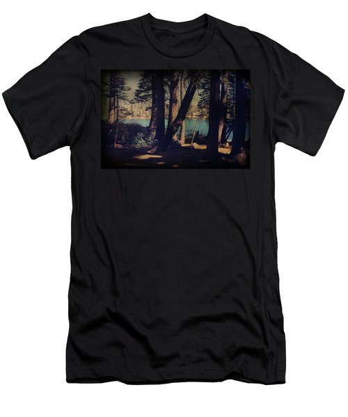 I Sit In The Shadows Men's T-Shirt (Athletic Fit)