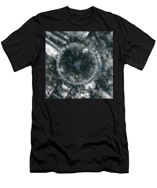 Ice Fishing Hole 18 Men's T-Shirt (Athletic Fit)