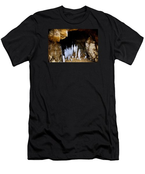 Ice In A Cave Men's T-Shirt (Athletic Fit)