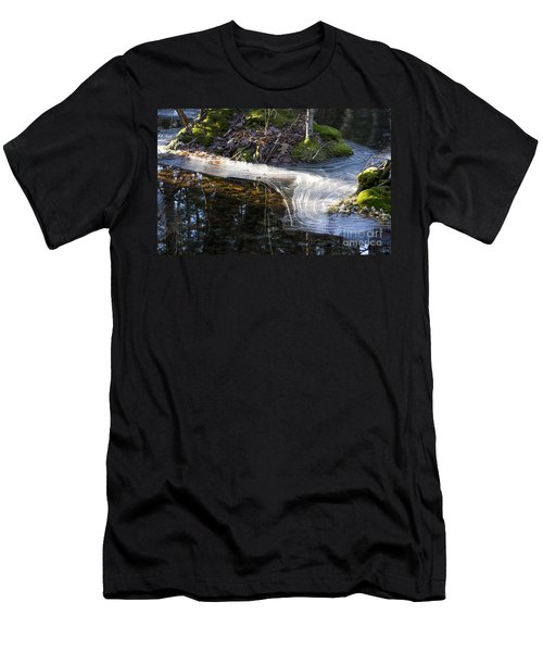 Ice In Creek Men's T-Shirt (Athletic Fit)